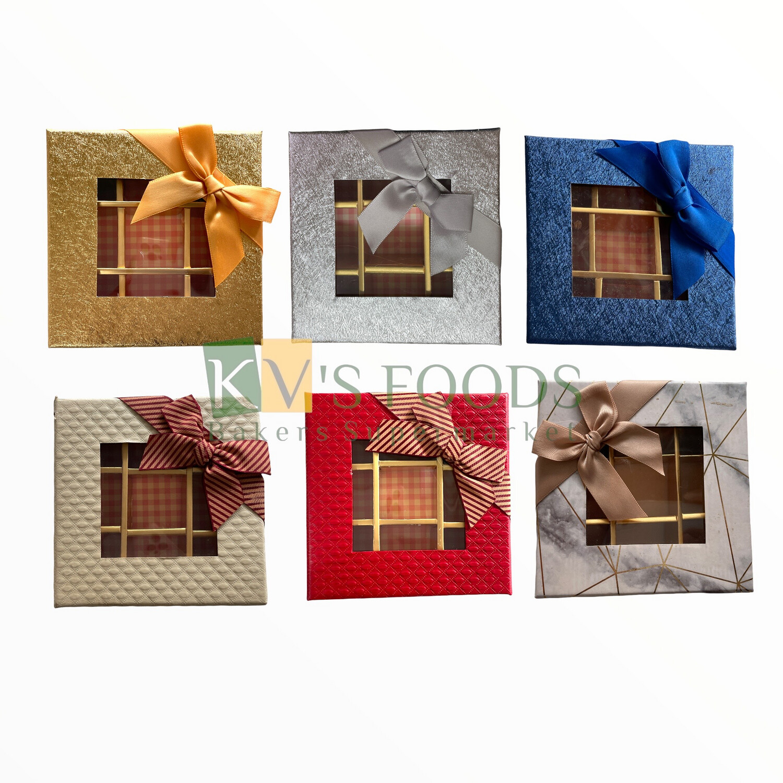 9 Cavity Chocolate Box