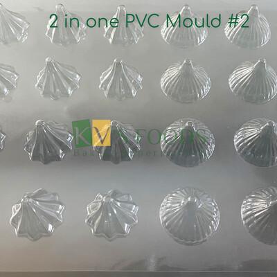 2in1 Design Modak PVC Modak Mould Large Design#1