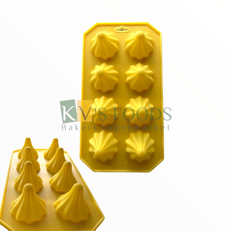 10 Cavity Modak Chocolate Silicon Mould Design#2