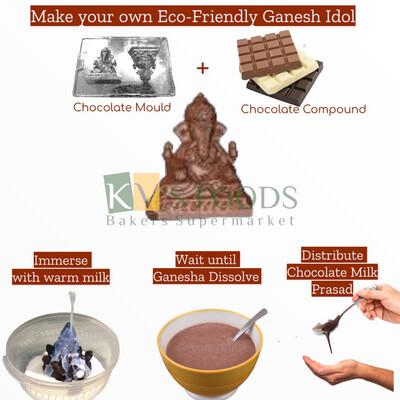 Ganesha Idol Chocolate Mold