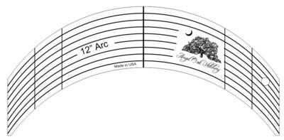 12 Inch Arc Rulerwork Quilting Template
