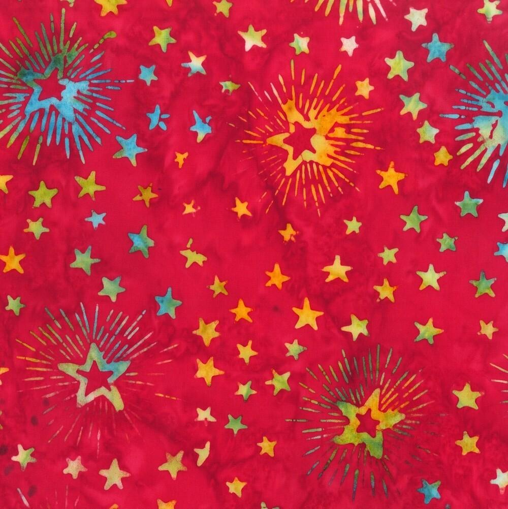 Anthology Batik Freedom Fireworks Red 9004Q-2