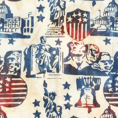Anthology Batik Freedom Liberty Multi 9000Q-1