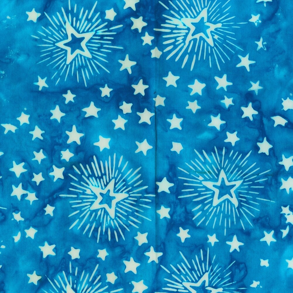 Anthology Batik Freedom Fireworks Blue 9004Q-4