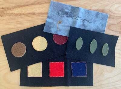 Intro To Wool Appliqué Class