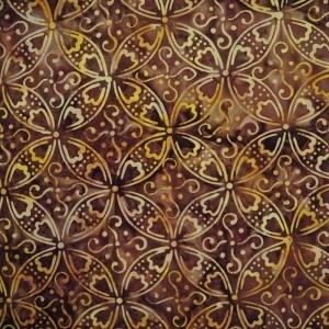 Batik by Mirah Hot Fudge HT-14-7187 Montana Batik
