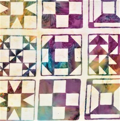 Batik Textiles Berry Tart Quilt Blocks 5201