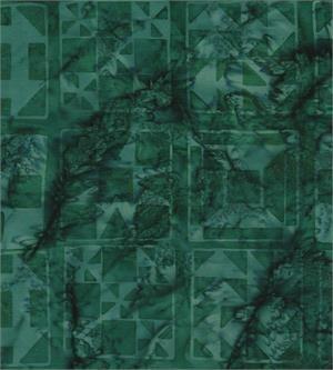 Batik Textiles Berry Tart Quilt Blocks Green 5205