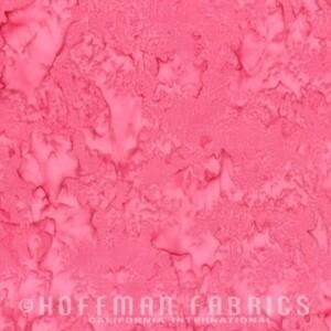 Hoffman Bali Watercolors Batik 1895-557 Azalea