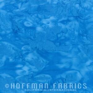 Hoffman Bali Watercolors Blue Jay 1895-261