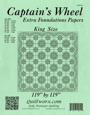 Quiltworx Captain's Wheel Replacement Papers King JNQ116R