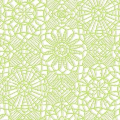 QT Fabrics Amazing Lace Lime White 24632-ZH