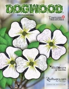 Quiltworx Dogwood Petals Placemat Series JNQ215P2-WS
