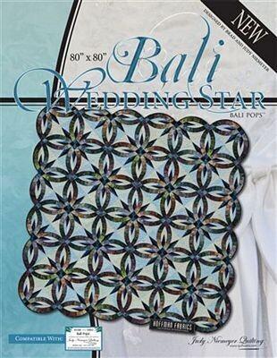 Quiltworx Bali Wedding Stars JNQ136P