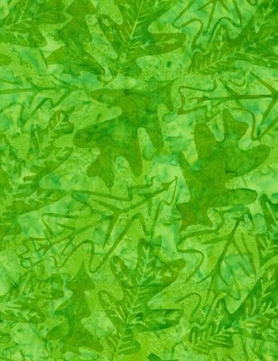 Oak Leaf Batik Tonga B9229
