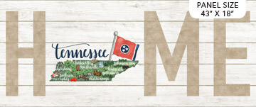 Northcott My Home State Panel - Tennessee DP23171