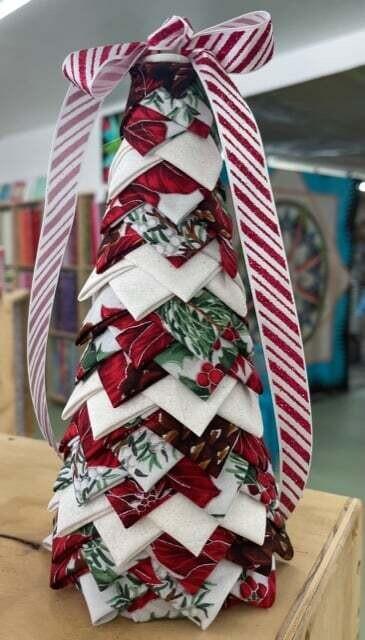 Folded Fabric Tree Class