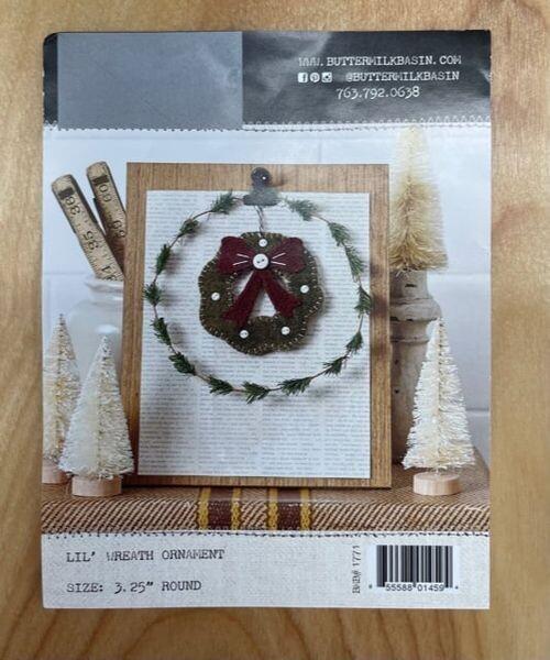 Lil' Wreath Wool Ornament Class