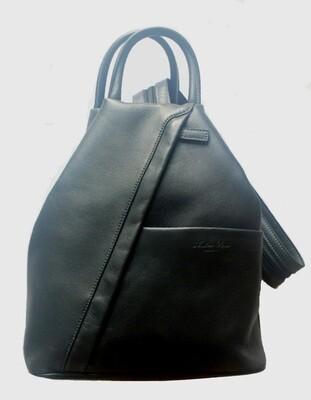 Сумка-рюкзак женская Andrea Rossi на одном плечевом ремне, разделяющемся на две части, 26/12 x 31 x 10 см