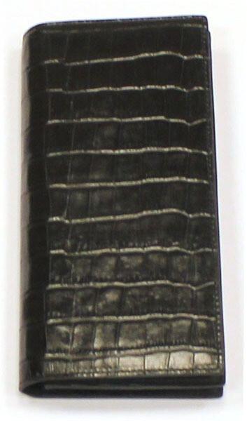 Бумажник мужской  Andrea Rossi из телячьей кожи тисненой под крокодил Trend