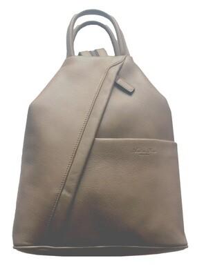 Сумка-рюкзак женская Andrea Rossi на одном плечевом ремне разделяющемся на две части, 26/12 x 31 x 10 см