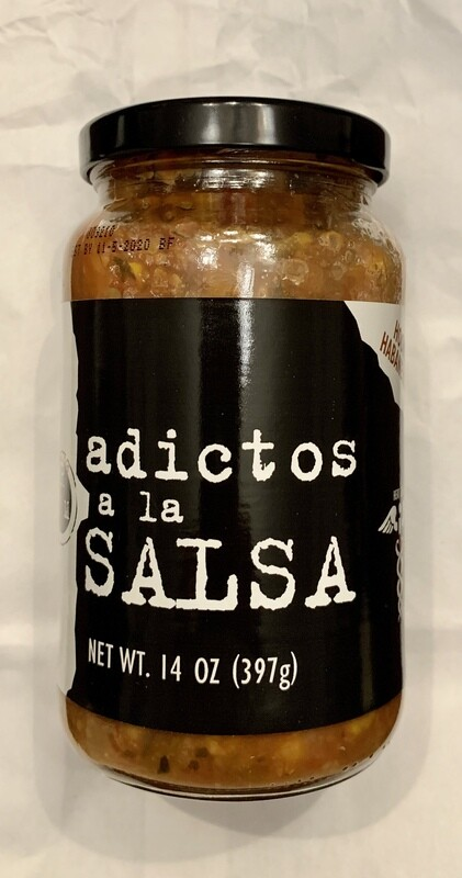Adictos a la Salsa    (Hooked on Habanero Corn)