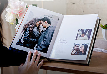 Bespoke guest book / photo-booth book