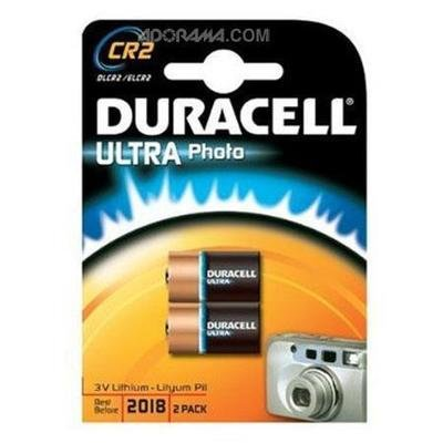 Extra CR2 batteries (x2) for Fuji Square 6 Cameras