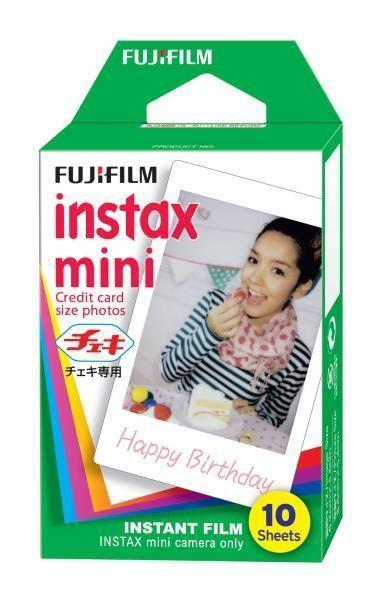 Colour Film for Polaroid 300 and Fuji Mini Cameras (10 photos)