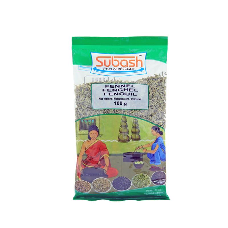 Subash Fennel Seeds 30 x 100 g