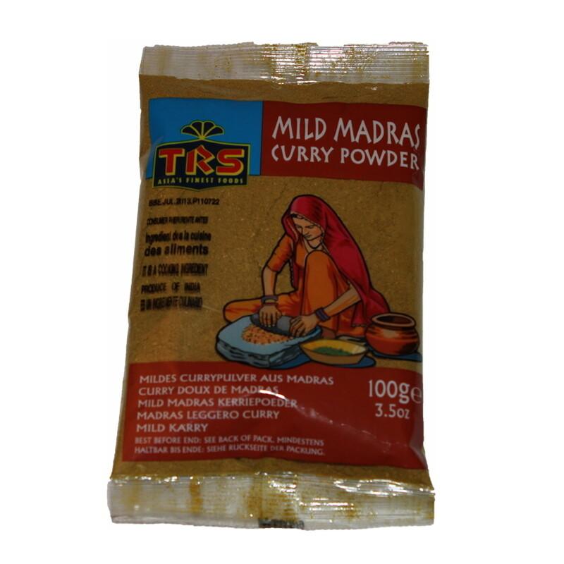 TRS Madras Curry Mild 20 x 100 g