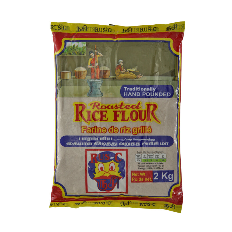Rus-C Red Rice Flour Hand Pounded 10 x 2 kg