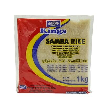Kings Samba Rice 20 x 1 kg