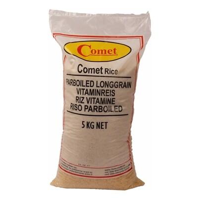 Comet Par Boiled Rice 1 x 5 kg