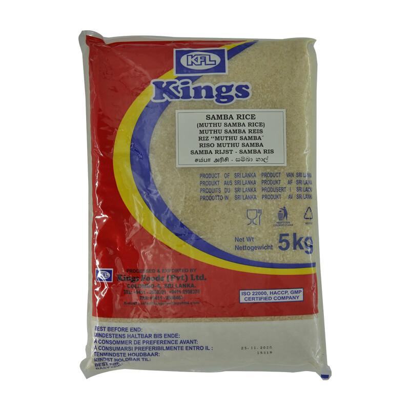 Kings Samba Rice 4 x 5 kg
