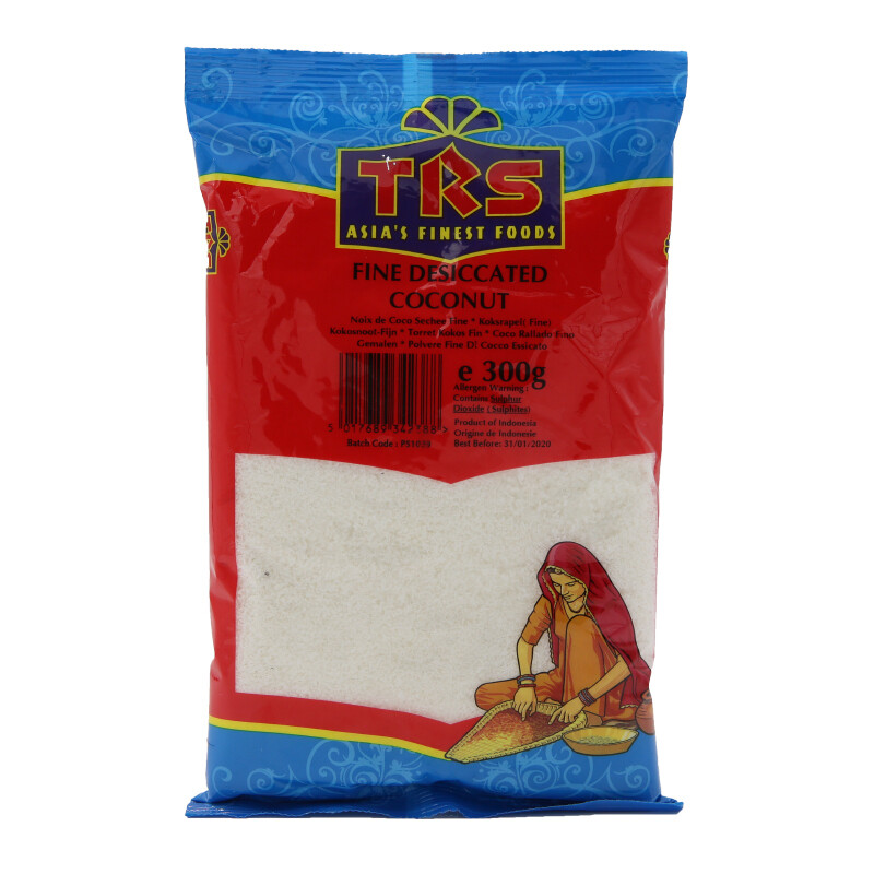 TRS Desiccated Coconut Fine 10 x 300 g