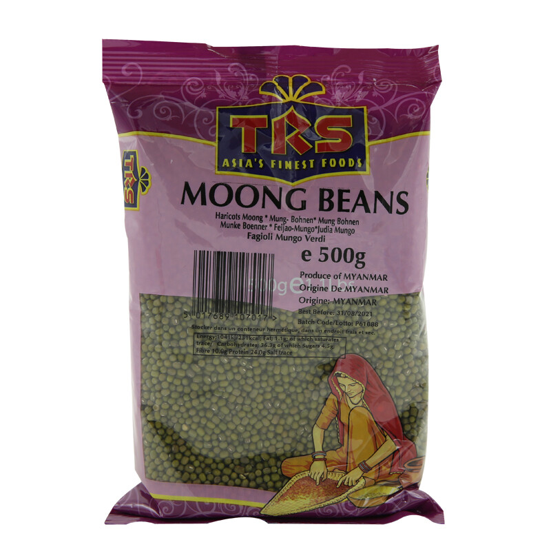 TRS Moong Whole 20 x 500 g