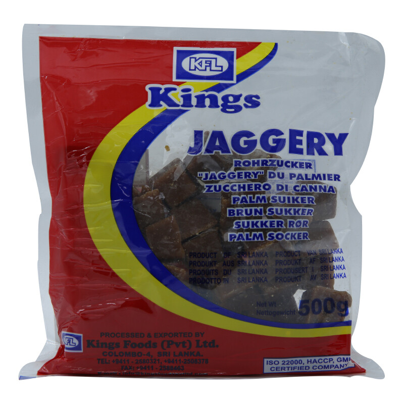 Kings Jaggary 20 x 500 g