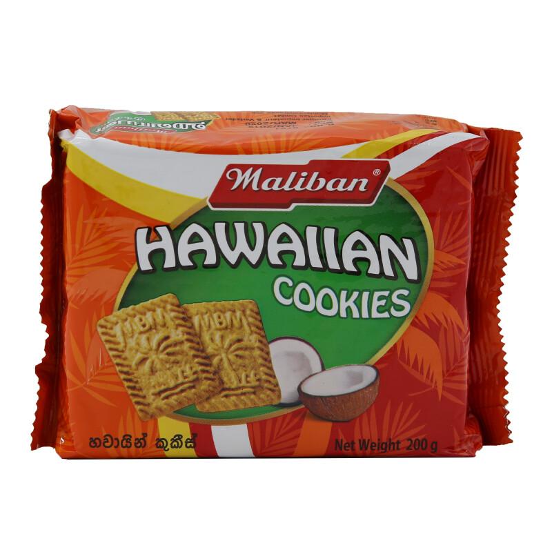 Maliban Hawaian Cookies 24 x 200 g