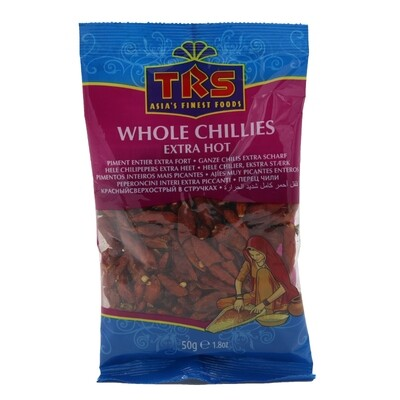 TRS Chilli Whole Hot 20 x 50 g