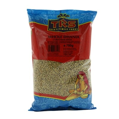 TRS Dhania Whole Indoori 6 x 750 g