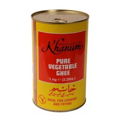 Khanum Vegetable Ghee 12 x 1 kg