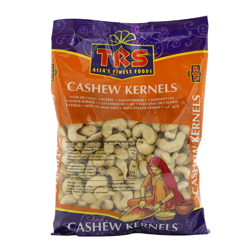 TRS Cashew Kernels 10 x 375 g