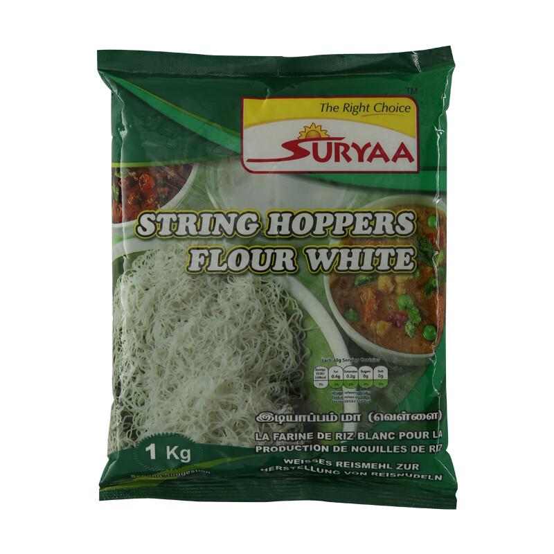 Suryaa String Hopper Flour White 20 x 1 kg
