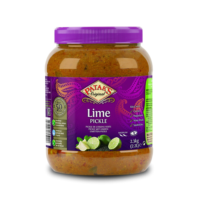 Patak Lime Pickle Mild 2 x 295 g