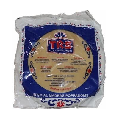 TRS Papadam Plain 60 x 200 g