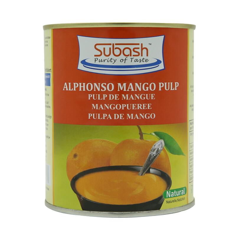 Subash Mango Pulp 12 x 850 g