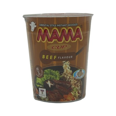 Mama Inst.noodle Cup Beef 16 x 70 g