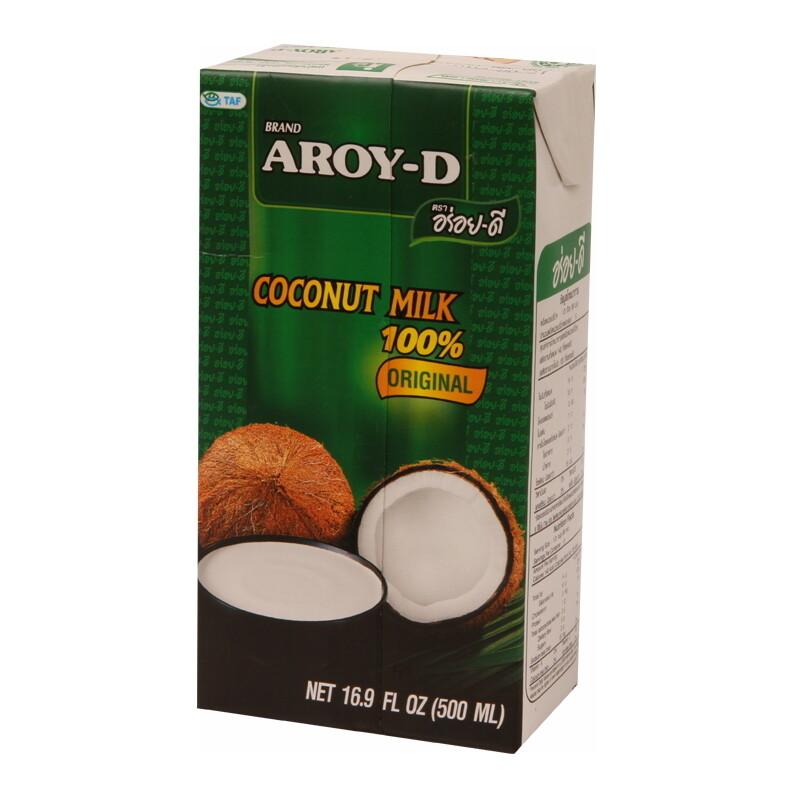 Aroy-D Coconut Milk UHT 12 x 500 ml