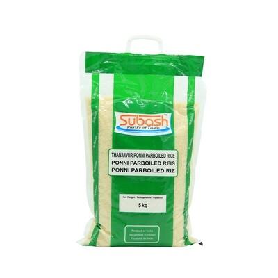 Subash Ponni Boiled Rice 4 x 5 kg